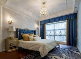 2019古典卧室装修设计图片 2019古典窗帘装修设计图片
