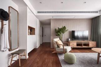 2019韩式90平米装饰设计 2019韩式三居室u乐娱乐平台设计图片