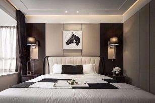 2019现代简约卧室装修设计图片 2019现代简约床图片