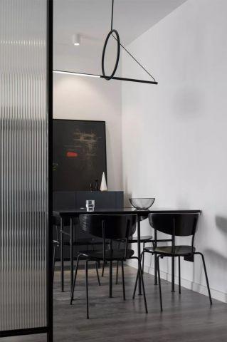 典雅餐厅餐桌实景图