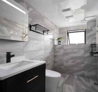 卫生间地板砖现代简约装修案例
