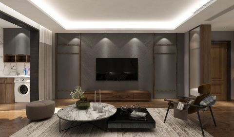 格调客厅背景墙装修方案
