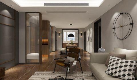 客厅白色吊顶设计方案