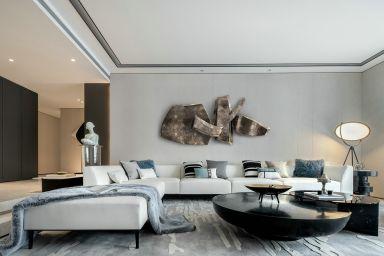現代風格大四居室設計
