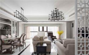 2020美式110平米裝修設計 2020美式四居室裝修圖