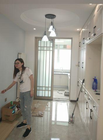 130平米旧房改造时尚田园三居室