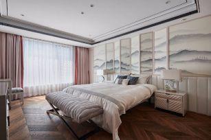 小巧玲珑卧室新中式设计