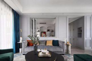 美式客厅细节设计方案