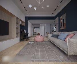 2020北欧150平米效果图 2020北欧三居室装修设计图片