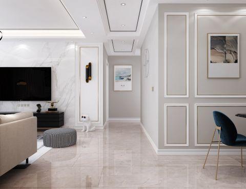 简约现代简约白色走廊装修美图