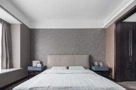卧室背景墙现代案例图片