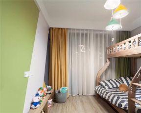 2019北欧儿童房装饰设计 2019北欧床效果图