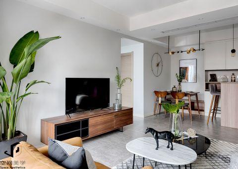 2019北欧90平米装饰设计 2019北欧三居室u乐娱乐平台设计图片