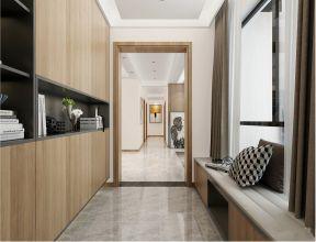 2019现代简约客厅装修设计 2019现代简约走廊装修效果图大全