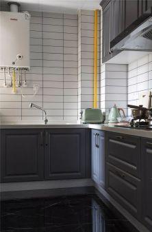 美好厨房北欧装修实景图