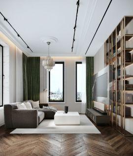 2020簡歐70平米設計圖片 2020簡歐套房設計圖片