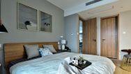 温暖卧室床家装设计