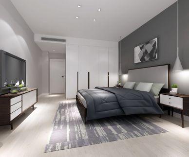 2020田園90平米裝飾設計 2020田園套房設計圖片