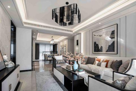 2020新中式90平米裝飾設計 2020新中式一居室裝飾設計