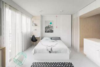 质朴卧室日式装修效果图