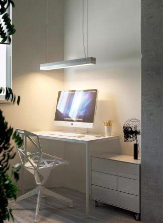 书房书桌北欧室内装修设计