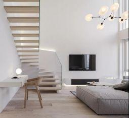 客厅背景墙现代设计图欣赏