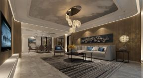 2020后现代240平米装修图片 2020后现代四居室装修图
