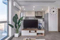 优雅客厅电视柜装修案例
