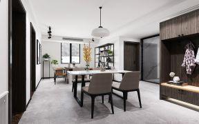 2020现代简约客厅装修设计 2020现代简约博古架装修图片