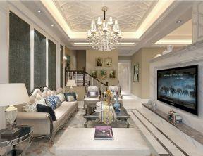 风雅客厅装饰实景图片