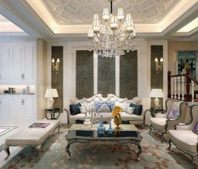 精美绝伦米色沙发装修案例效果图