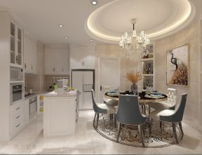完美餐厅简欧室内装修图片
