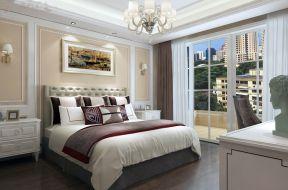 雅致卧室背景墙装修图片