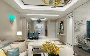2020简约客厅装修设计 2020简约吊顶设计图片