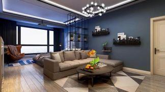 精雕细刻暖色系沙发装修设计图片