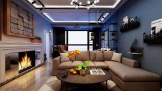 美轮美奂卧室现代装潢实景图片
