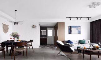 大气白色客厅平面图