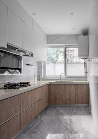 质感厨房北欧装修美图