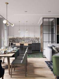 2019北欧餐厅效果图 2019北欧地板装修效果图片