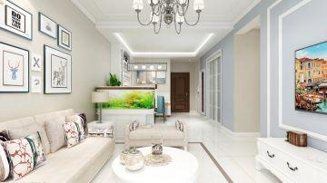美好白色客厅家装设计图