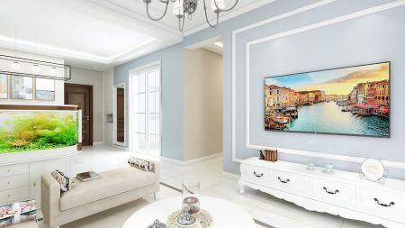 精美绝伦客厅电视背景墙装修设计图片