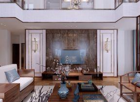 2021新中式客厅装修设计 2021新中式吊顶设计图片