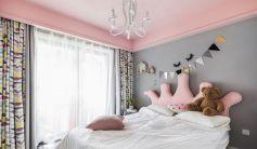 2021现代简约儿童房装饰设计 2021现代简约床效果图