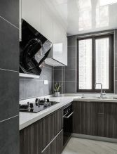 2021现代简约厨房装修图 2021现代简约橱柜装修效果图片