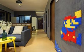 庄重客厅楼梯室内装修图片