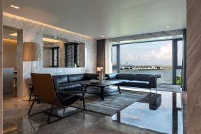 2021现代简约客厅装修设计 2021现代简约窗台设计图片