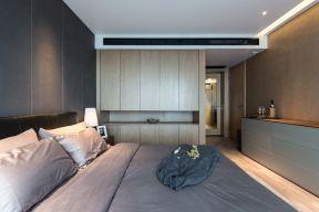 2021现代简约卧室装修设计图片 2021现代简约衣柜装修效果图片