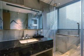2021现代简约卫生间装修图片 2021现代简约隔断装饰设计