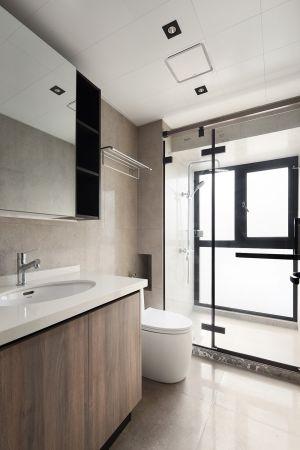 小巧玲瓏浴室浴室柜裝修方案