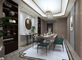 2021新中式餐厅效果图 2021新中式灯具装修效果图片